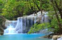 Fototapete, Wasserfall